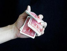 Good card magic tricks rely on magic skill and specific moves, also known as sleight of hand. Learn some basic sleight of hand card tricks.
