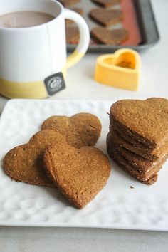 These lightly sweetened, crunchy cookies make a perfect stand in for graham crackers-- and are gluten free! Make s'mores, or dunk in your coffee.