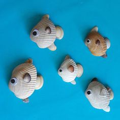 Seashell Fish | Fun Family Crafts