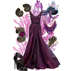 Ursula, created by violetvd on Polyvore