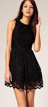 Little Black Dress Gala Dresses, Dresses For Teens, Casual Dresses, Summer Dresses, Asos Lace Dress, Light Dress, Mode Inspiration, Online Shopping Clothes, Mannequins