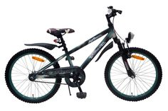 De Volare Ambush serie wordt nu met deze Volare AmbushJunior Cross 20 inch jongensfiets verder uitgebreid. Deze fiets is super mooi, stoer en een modern frame. Elke jongen maakt met deze fiets de Blitz. Alles op deze fiets is van kwaliteit, zoals een kwaliteit verende voorvork van het merk Zoom, binnenwerk onderdelen en crankset van Merk leveranciers, extra stevig oversized voorframe. Gewoon een goede fiets. Deze fiets is geschikt voor jongens in de leeftijd van 6-8 jaar.