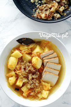 Wegański kapuśniak Tofu, Ramen, Ethnic Recipes