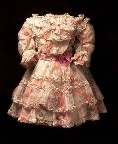 antique doll's dress ... c. 1890