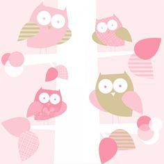 My Owl Barn: Trendy Peas: Owls Wallpaper