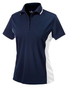 Charles River Apparel Womens Color Blocked Polo Shirt NavyWhite Medium >>> You can find out more details at the link of the image.Note:It is affiliate link to Amazon.