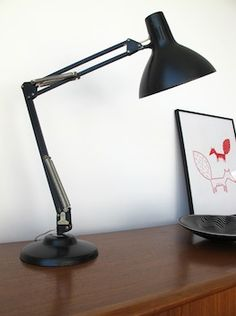 Black Anglepoise from chairsandskyscrapers.com