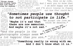 -Perks of Being a Wallflower quotes