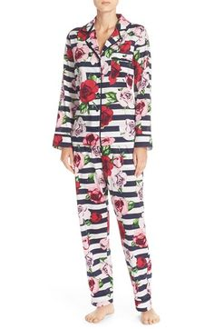 33fcc30a07 kate spade new york print cotton blend pajamas Kate Spade Pajamas