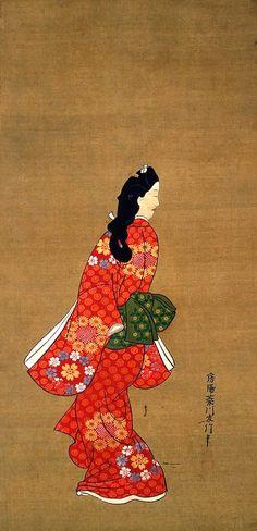 Hishikawa Moronobu (菱川師宣) 1618-1694, Japanese Artist
