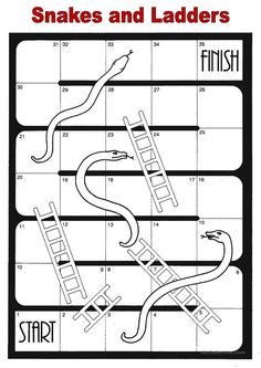snakes and ladders custom word game template word study word games snakes ladders. Black Bedroom Furniture Sets. Home Design Ideas