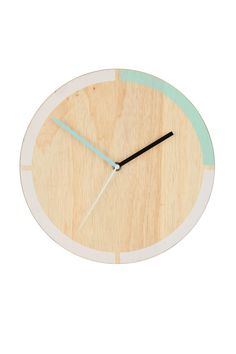 You ll love watching the time go by with this sleek wooden clock.  Measurements 59d04f88a1