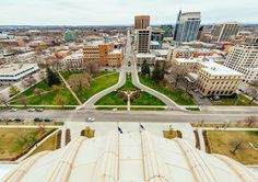 View of Downtown Boise from the Idaho Capital Building