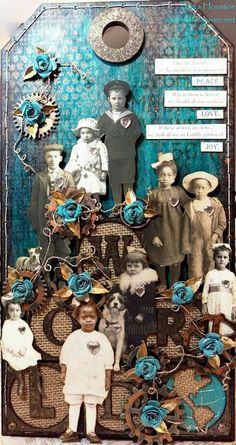 awesome tutorial using Tim Holtz's new large tag shapes