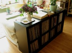 "Record Album Storage: 10 Solutions: ""If they didn't design the expedit specifically for storing albums, I don't know what they were thinking - its perfect!"""