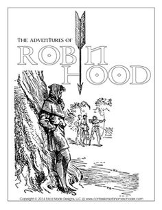 The Adventures of Robin Hood Literature Unit & Lapbook