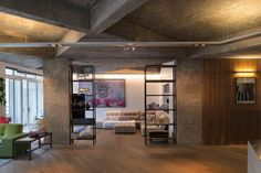 """In Clerkenwell, an architect re-imagines a space to bring out the """"dramatic…"""