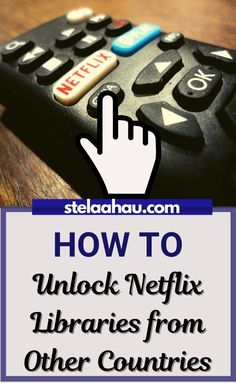 Just follow a simple steps and enjoy your favorite Netflix programs for all over the world.