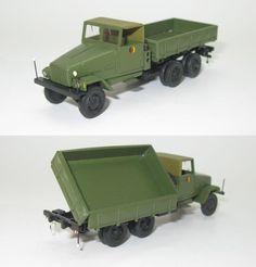 IFA G5 Muldenkipper in der Armeevariante 1952 DDR UdSSR - 1:87 HO