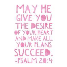 Psalm 20:4