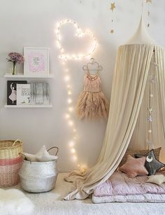 How sweet is this little girls playroom design? #playroom #kidsroom #playtime Find more inspirations at www.circu.net