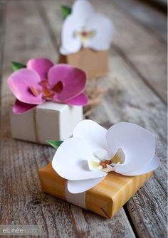 DIY paper orchid tutorial