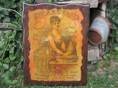 Pears Soap with Pretty Lady Advertisement by Daysgonebytreasures, $16.00