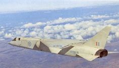 BAC TSR-2. This plane would have had the same purpose as the US XB-70.