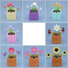 Solar Dancing Toys Flip Flap Flowers Bugs Animals Bobble Toy Solar Dancer