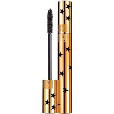 Yves Saint Laurent Luxurious Mascara Star Collector Edition (230 HRK) ❤ liked on Polyvore featuring beauty products, makeup, eye makeup, mascara, yves saint laurent, yves saint laurent mascara and lengthening mascara