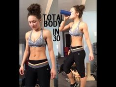 30min At Home Total Body HIIT Workout for Weight Loss & Muscle Toning | No Equipment Workout - YouTube