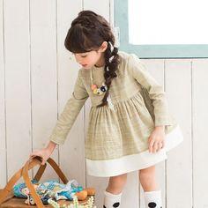 Micca Square Dress (2C) -- sheer gold silk over linen, drop waist.