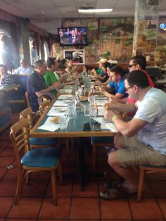 2/24/2016- That seat is waiting for you! The little Havana Food Tour / Private Tour.  Enjoying Miami's finger food- Empanadas!