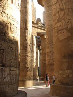 Karnak Louxor, Egypt