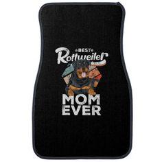 Rottweiler Lover Gift - Best Rottweiler Mom Ever T Car Floor Mat   rottweiler dog, husky rottweiler mix, rottweiler pitbull mix puppies #rottweilerofinstagram #rottweilersofinsta #rottweilerofinsta Rottweiler Quotes, Rottweiler Funny, Rottweiler Training, Rottweiler Puppies, Car Mats, Car Floor Mats, Best Mom, Gift For Lover, Funny Gifts