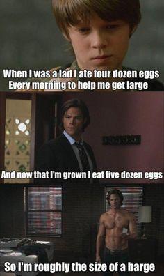 Mmm yeah. Sam Winchester.