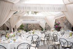 Coral Oscar de la Renta Wedding Dress | Miu Miu Shoes | Ghost Bridesmaid Dresses | Borgo di Castelvecchio Tuscany Wedding Venue | Fiona Kelly Photography | http://www.rockmywedding.co.uk/som-jonny/
