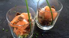 Lachs-Sandwich im Glas | Stilpalast
