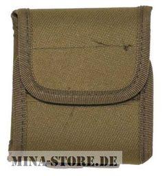 "mina-store.de - Tasche ""Molle"" mit Beutel coyote tan"