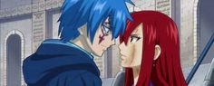 Erza x Gerard Erza Et Jellal, Fairy Tail Jellal, Fairy Tail Erza Scarlet, Anime Couples, Cute Couples, Jerza, Fairytail, Fairy Tail Characters, Fairy Tail Couples