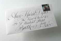 calligraphy-on letters
