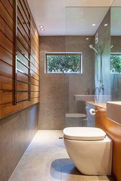 Marine Parade, Auckland, 2013 - Dorrington Atcheson Architects #bathroom