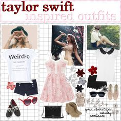 taylor swift inspired outfits! // ainsley