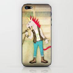 Punk Unicorn iPhone & iPod Skin by That's So Unicorny - $15.00