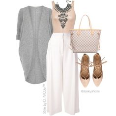 Untitled #3216 by stylebydnicole on Polyvore featuring polyvore, moda, style, Billie & Blossom, iHeart, Proenza Schouler, Louis Vuitton, DYLANLEX, fashion and women's clothing