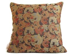 Decorative Pillow Cover 20x20 Pillow Concealed by ThePillowCafe, $45.00