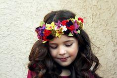 Simple DIY Crown ~ Fairy Flower Crown Tutorial