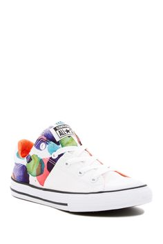 Converse Chuck Taylor All Star Madison Oxford (Little Kid) Converse Chuck Taylor All Star, Chuck Taylors, Girls Shoes, Oxford, Lace Up, Sneakers, Counter, Contrast, Kids
