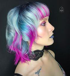 "539 Likes, 8 Comments - Estetica Magazine USA (@esteticausa) on Instagram: ""Suicide Squad Inspiration  by @bottleblonde76 using @pulpriothair haircolor #esteticalikes…"""