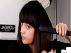 Tu Cabello Liso en 5 minutos!  Recomendado para personas de poco cabello y no con muchas ondas!